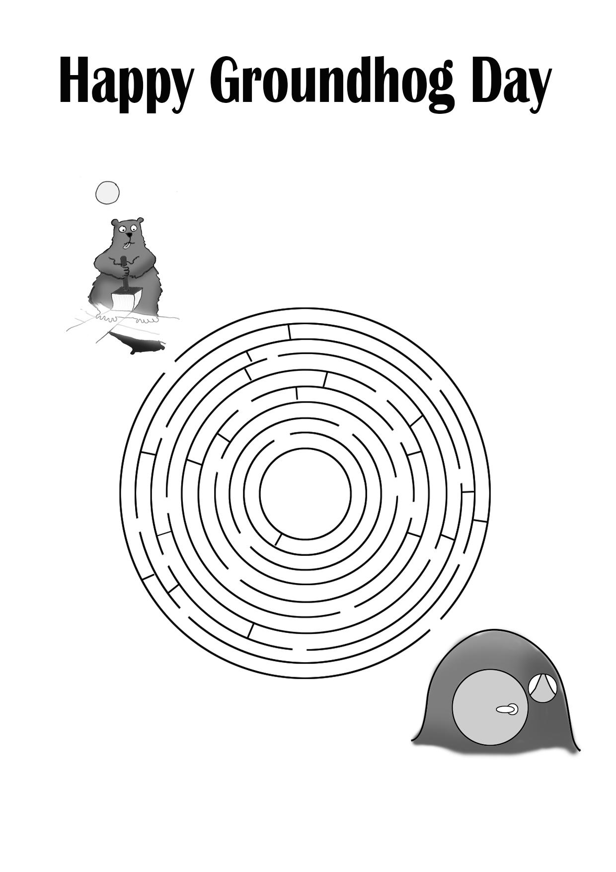 groundhog day maze difficult clipartqueen u0027s blog