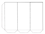 Candy template white