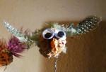 Pine cone bird