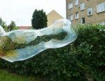 Huge soap bubbles