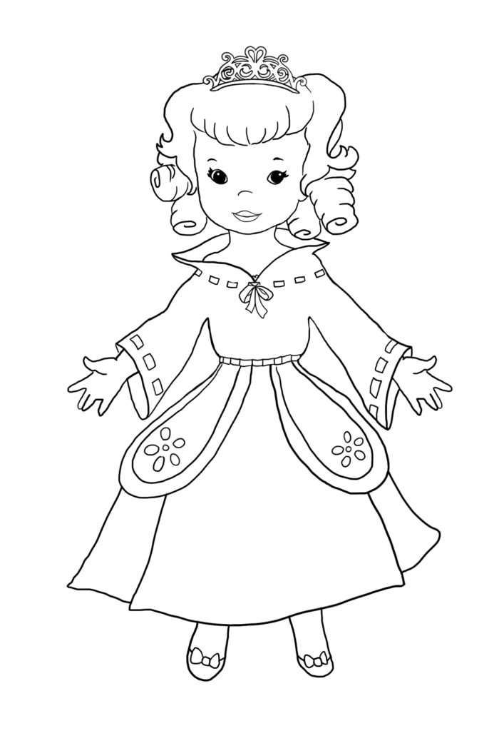 New Princess Coloring Pages : New pages and princess coloring sheets clipartqueen