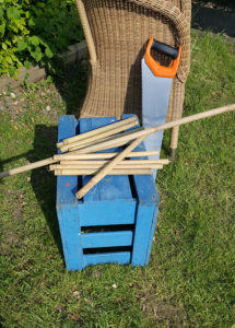 Bamboo sticks for Bees