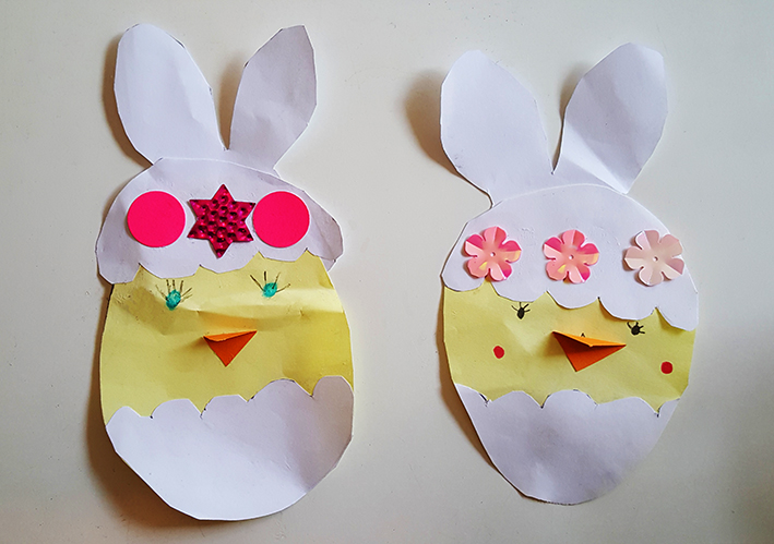 Funny Easter craft