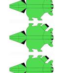 Dinosaur place cards