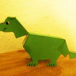 Folded Dino 1
