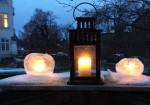 Winter Ice lanterns