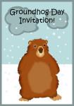 Invitation for groundhog day