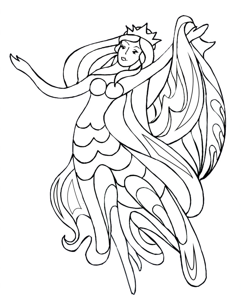 Coloring Pages With Dancers Clipartqueen S Blog